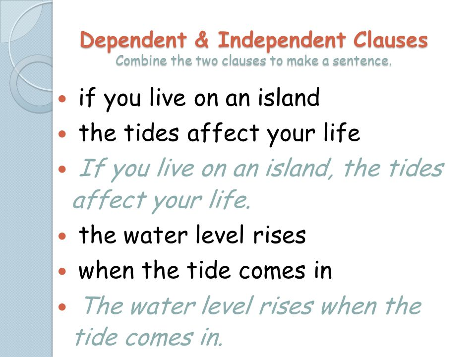 the tides affect your life