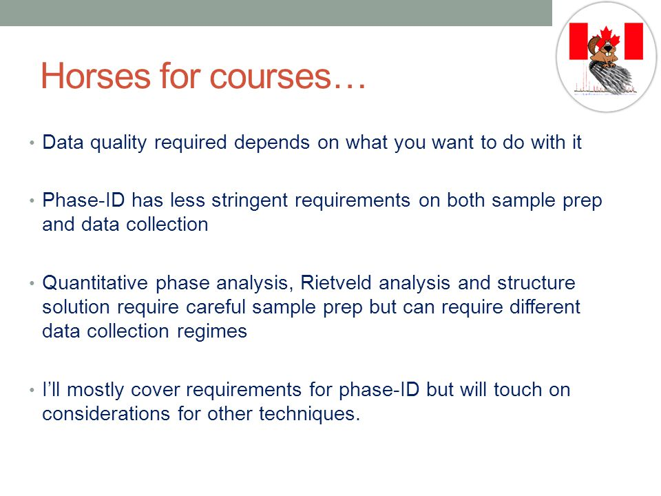 Horses for courses… Data quality required depends on what you want to do with it.
