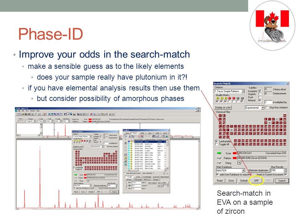 Phase-ID Improve your odds in the search-match