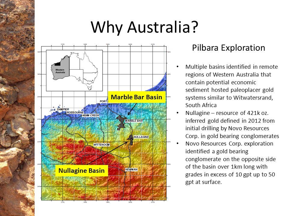Why Australia Pilbara Exploration Marble Bar Basin Nullagine Basin