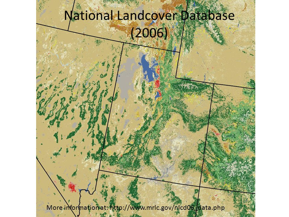 National Landcover Database (2006)