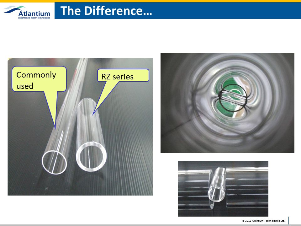 The Difference… Commonly used RZ series