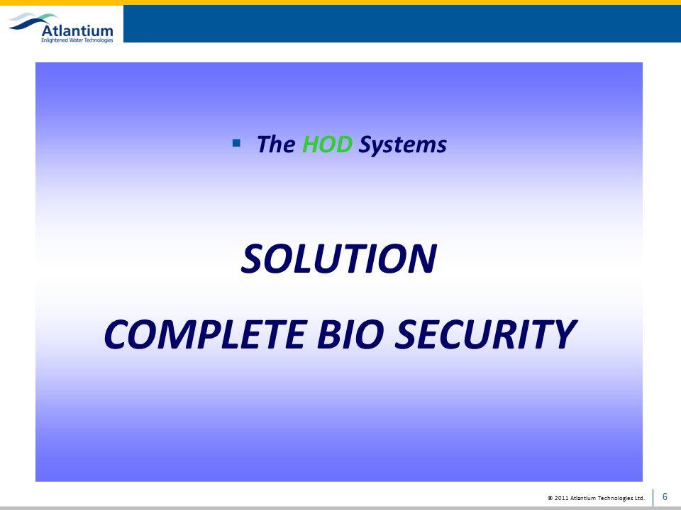 SOLUTION COMPLETE BIO SECURITY
