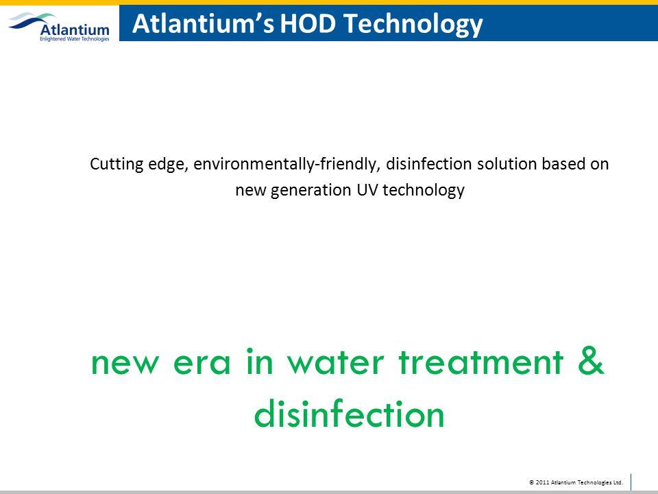 Atlantium's HOD Technology