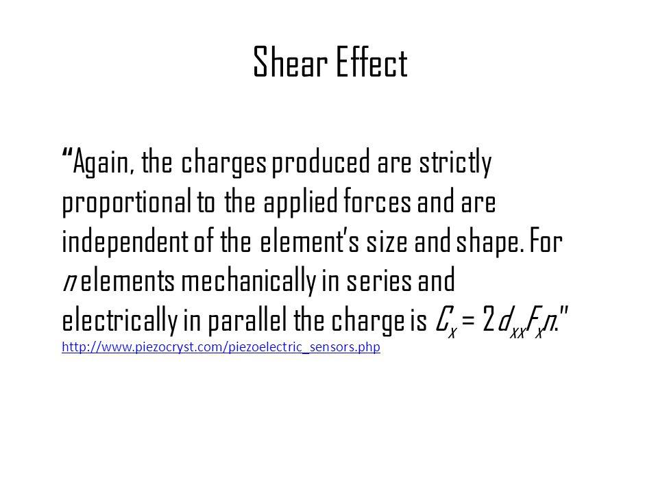 Shear Effect