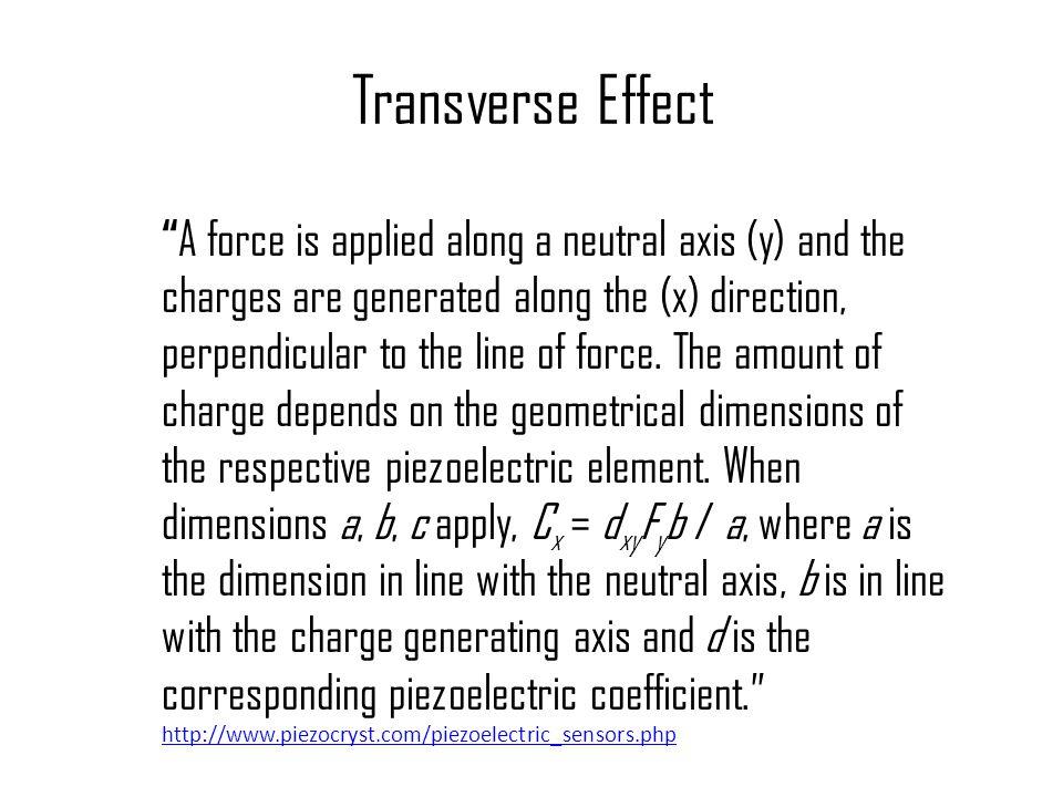 Transverse Effect