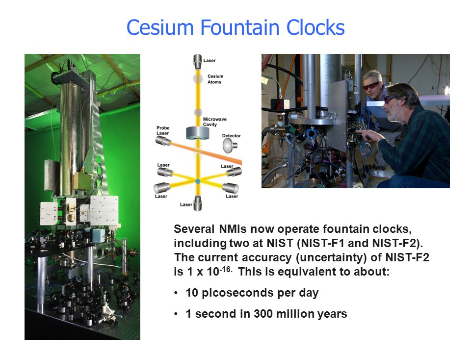 Cesium Fountain Clocks