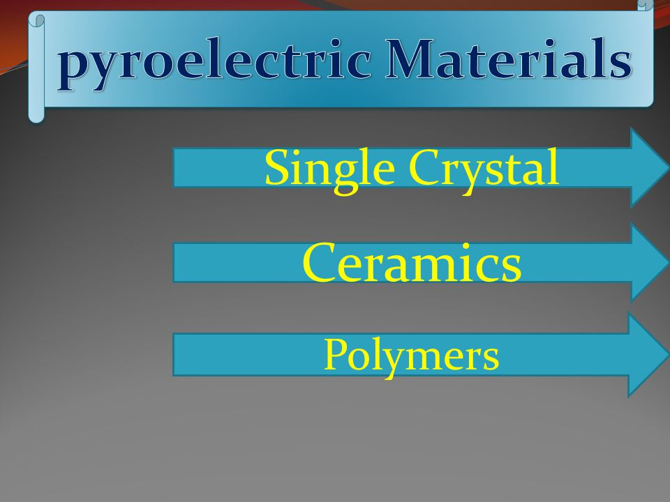 pyroelectric Materials