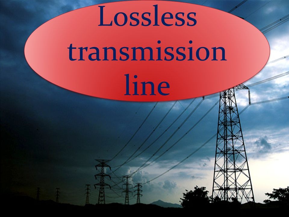 Lossless transmission line