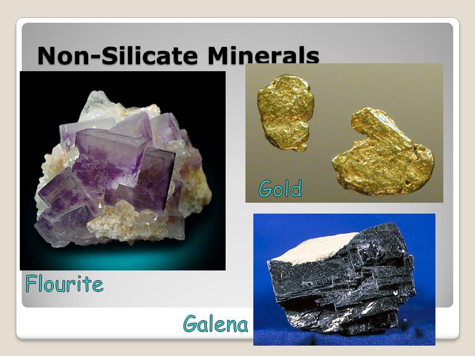 Non-Silicate Minerals