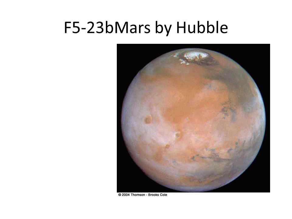 F5-23bMars by Hubble