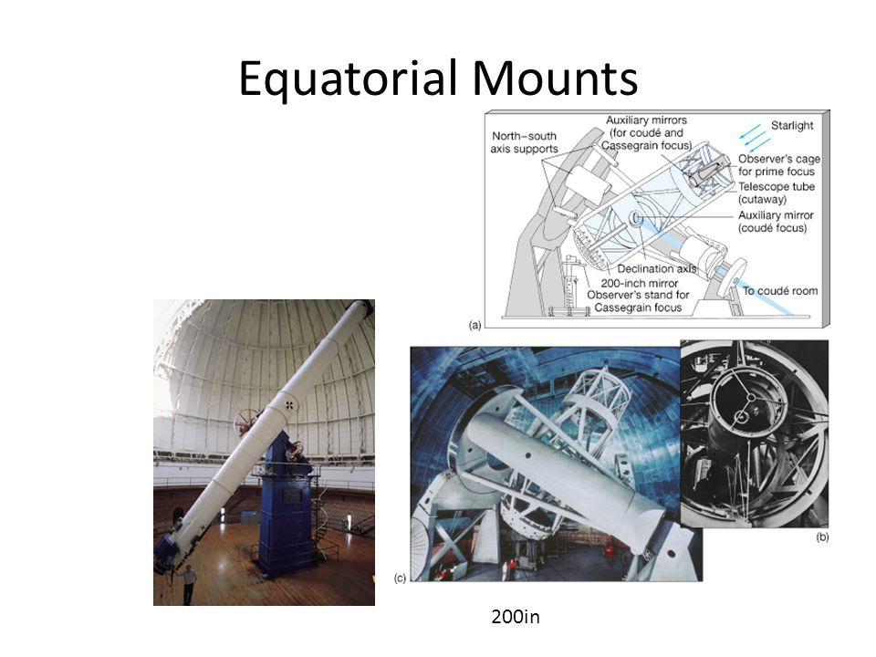 Equatorial Mounts 200in
