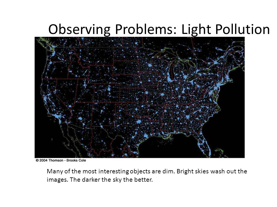 Observing Problems: Light Pollution
