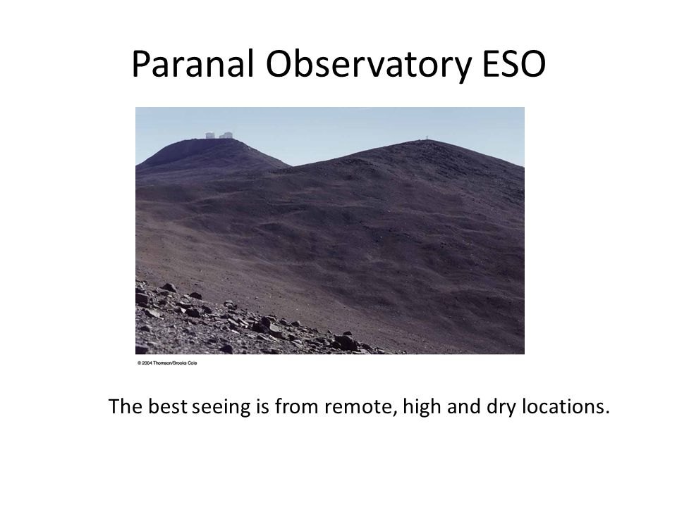 Paranal Observatory ESO
