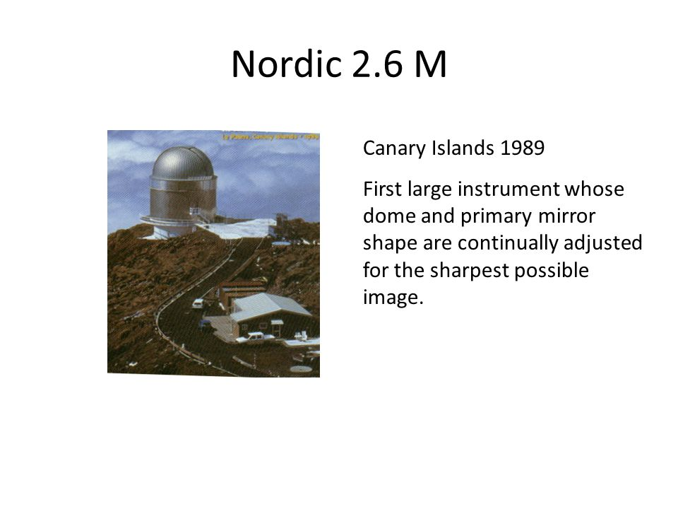 Nordic 2.6 M Canary Islands 1989