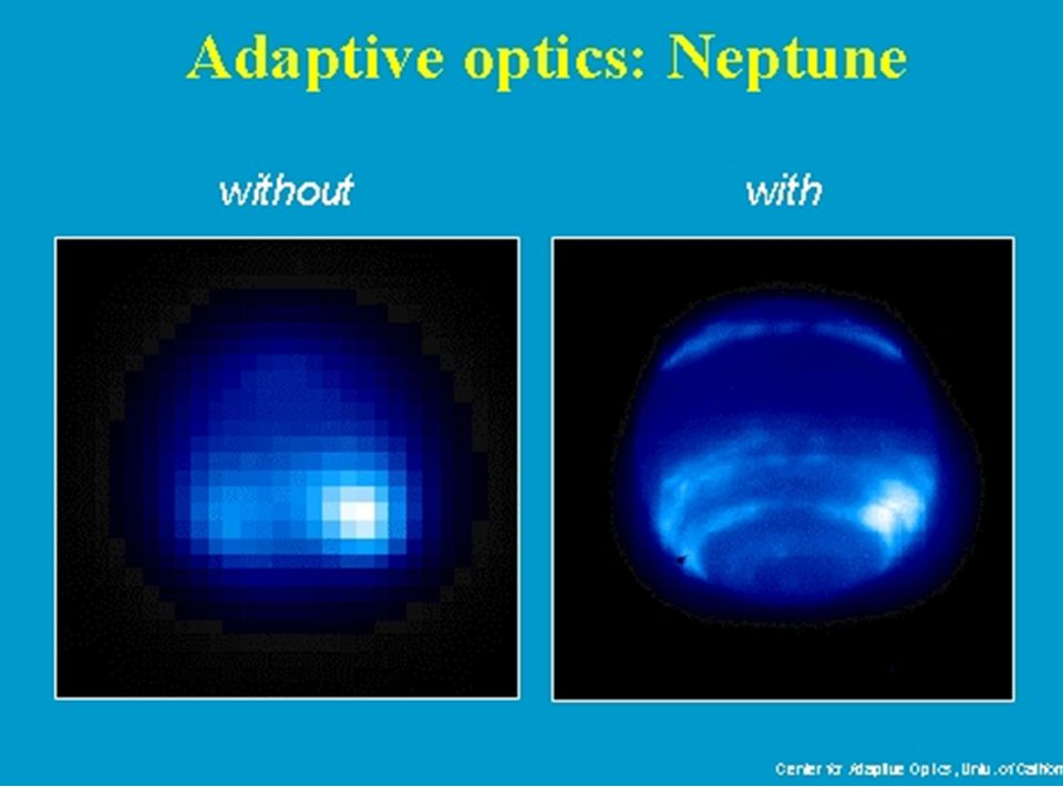 Another example of adaptive optics.