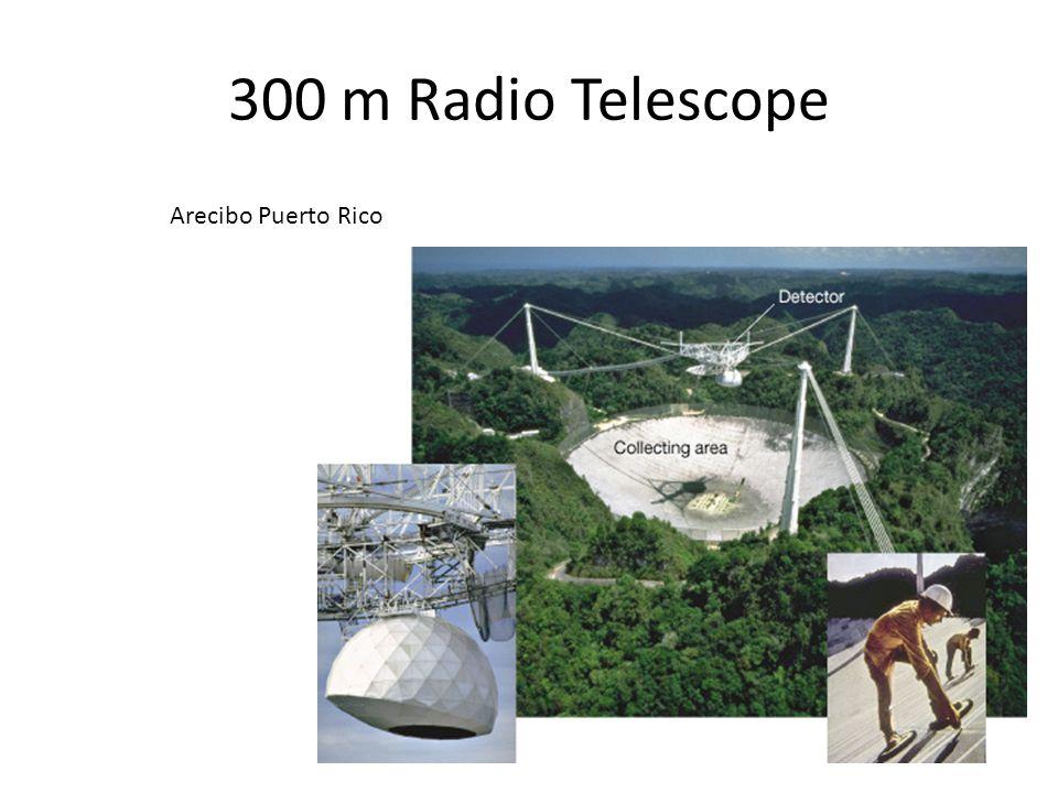 300 m Radio Telescope Arecibo Puerto Rico