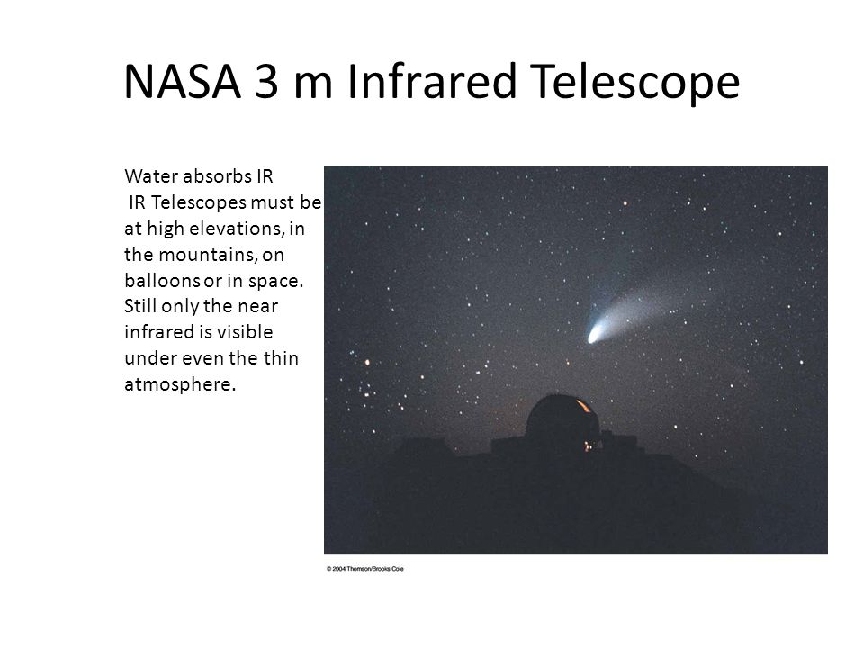 NASA 3 m Infrared Telescope