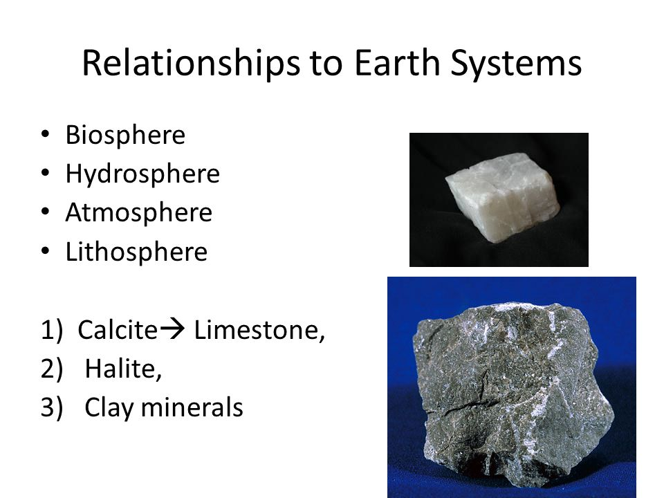 Relationships to Earth Systems