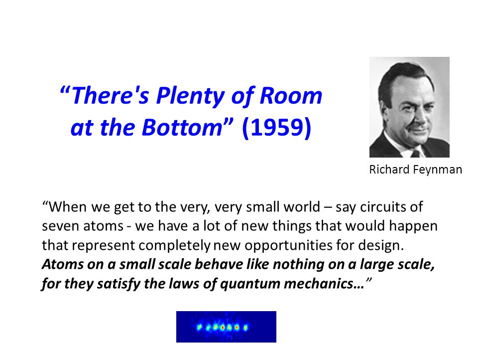 There s Plenty of Room at the Bottom (1959)