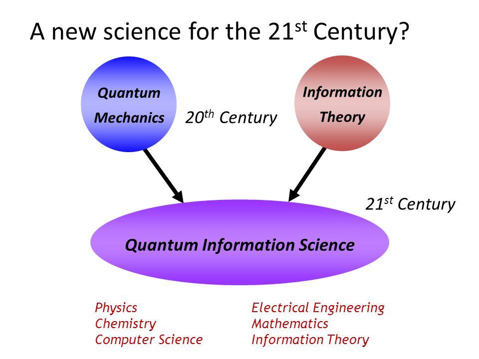 Quantum Information Science