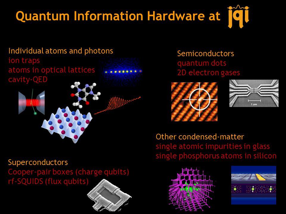 Quantum Information Hardware at