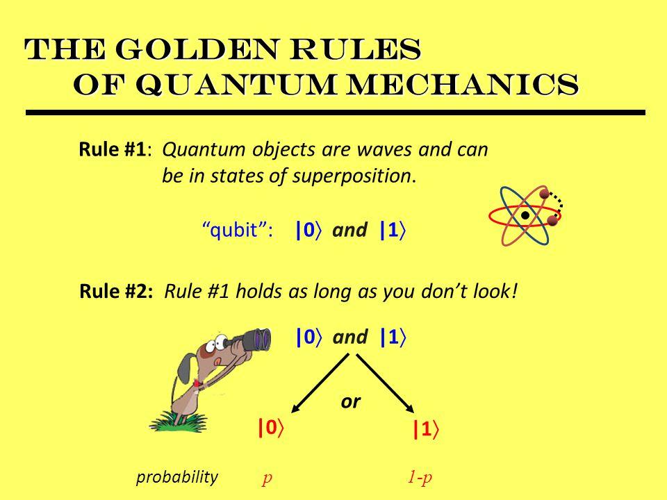 The Golden Rules of Quantum Mechanics