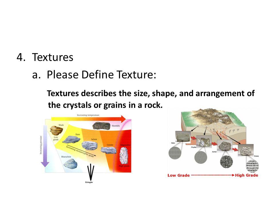 Textures a.