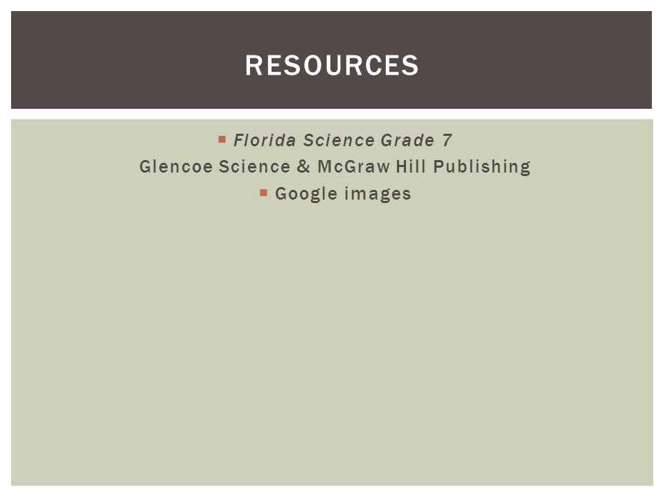 Glencoe Science & McGraw Hill Publishing