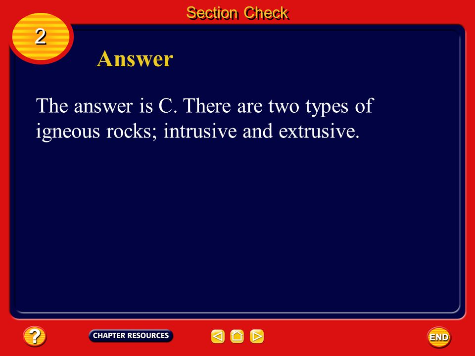 Section Check 2. Answer. The answer is C.