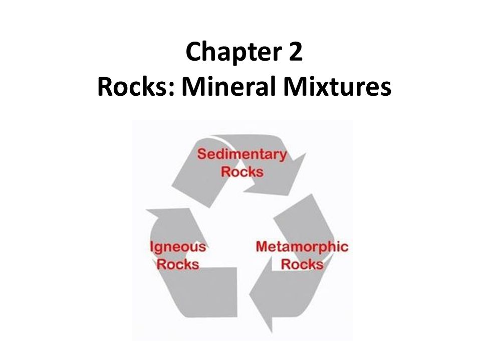 Chapter 2 Rocks: Mineral Mixtures