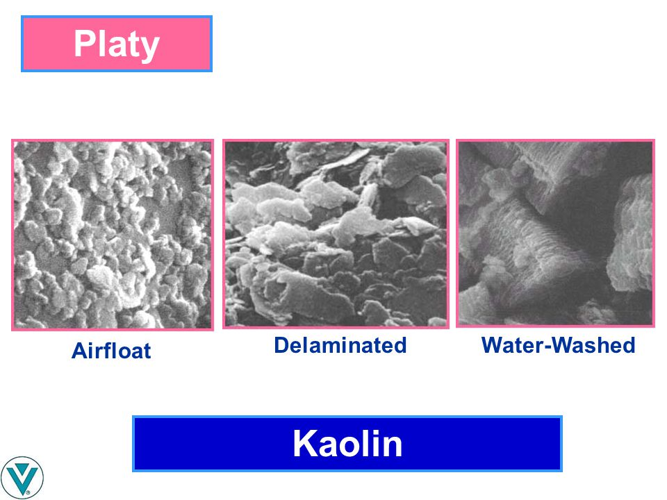Platy Delaminated Water-Washed Airfloat Kaolin