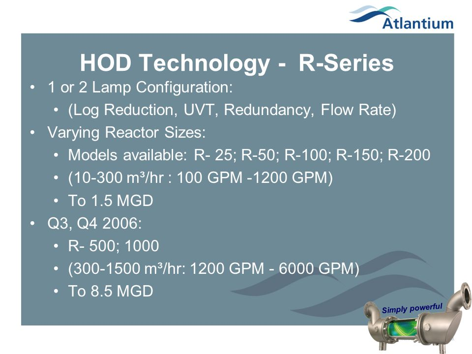 HOD Technology - R-Series