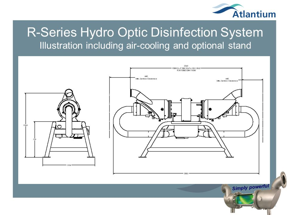 R-Series Hydro Optic Disinfection System