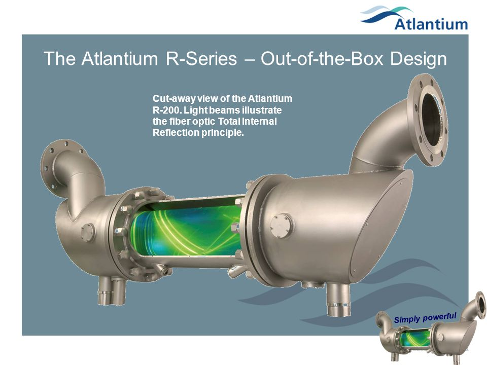 The Atlantium R-Series – Out-of-the-Box Design