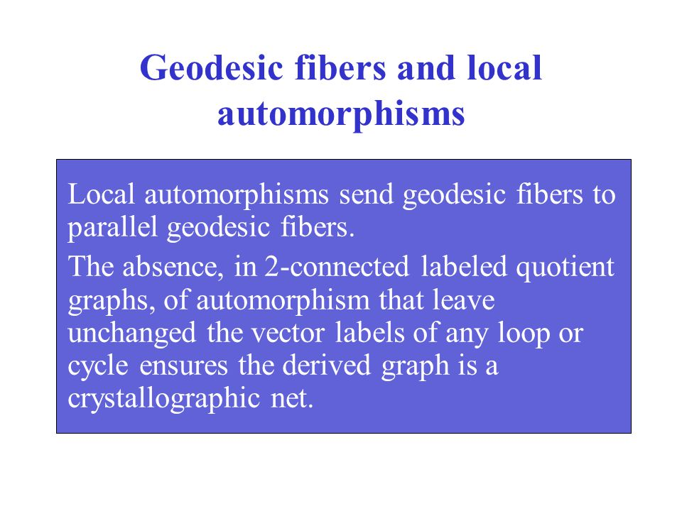 Geodesic fibers and local automorphisms