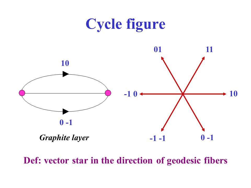Cycle figure Def: vector star in the direction of geodesic fibers 01