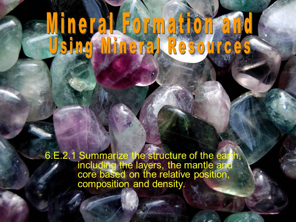 Using Mineral Resources