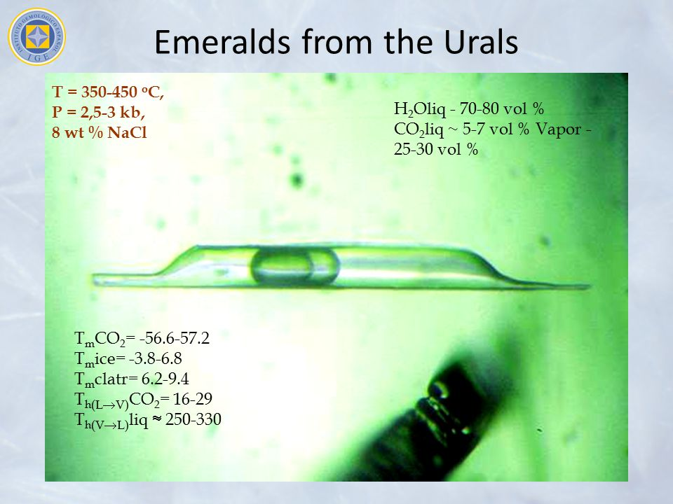Emeralds from the Urals