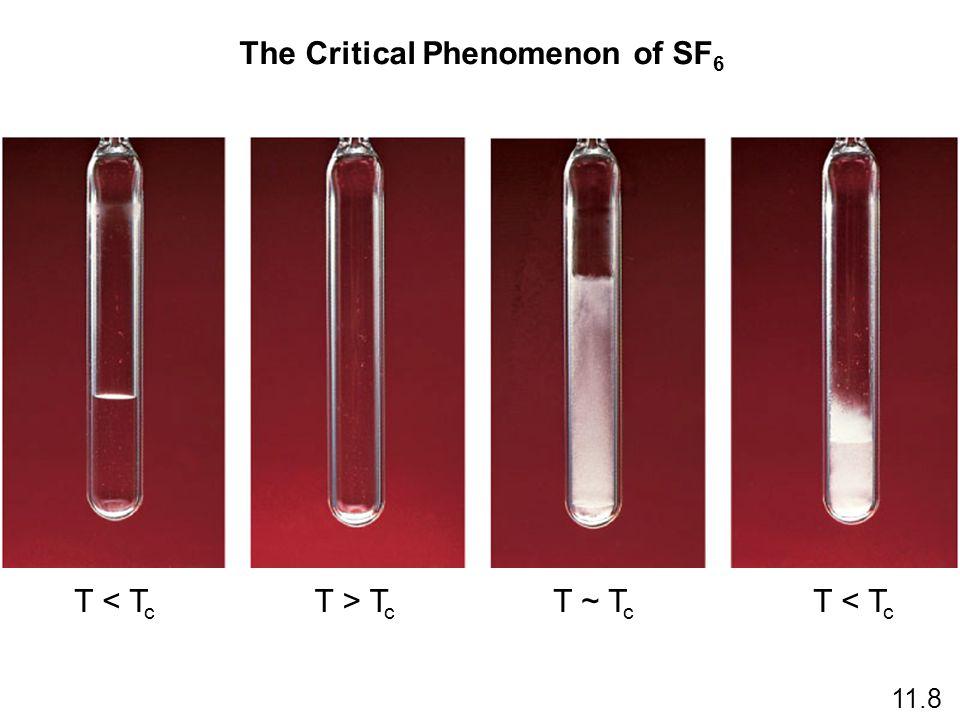The Critical Phenomenon of SF6