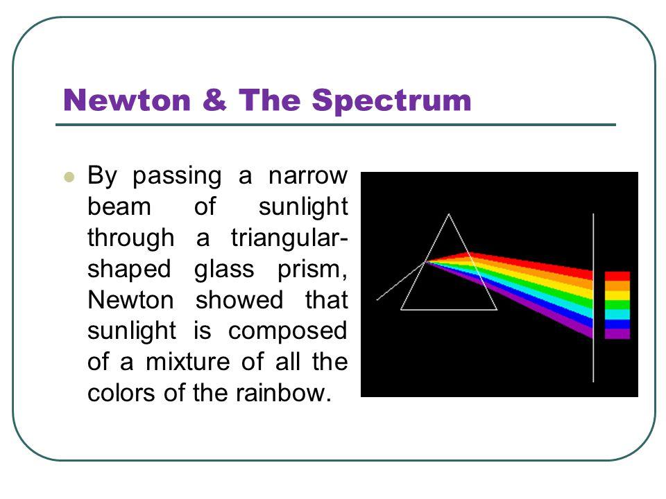 Newton & The Spectrum