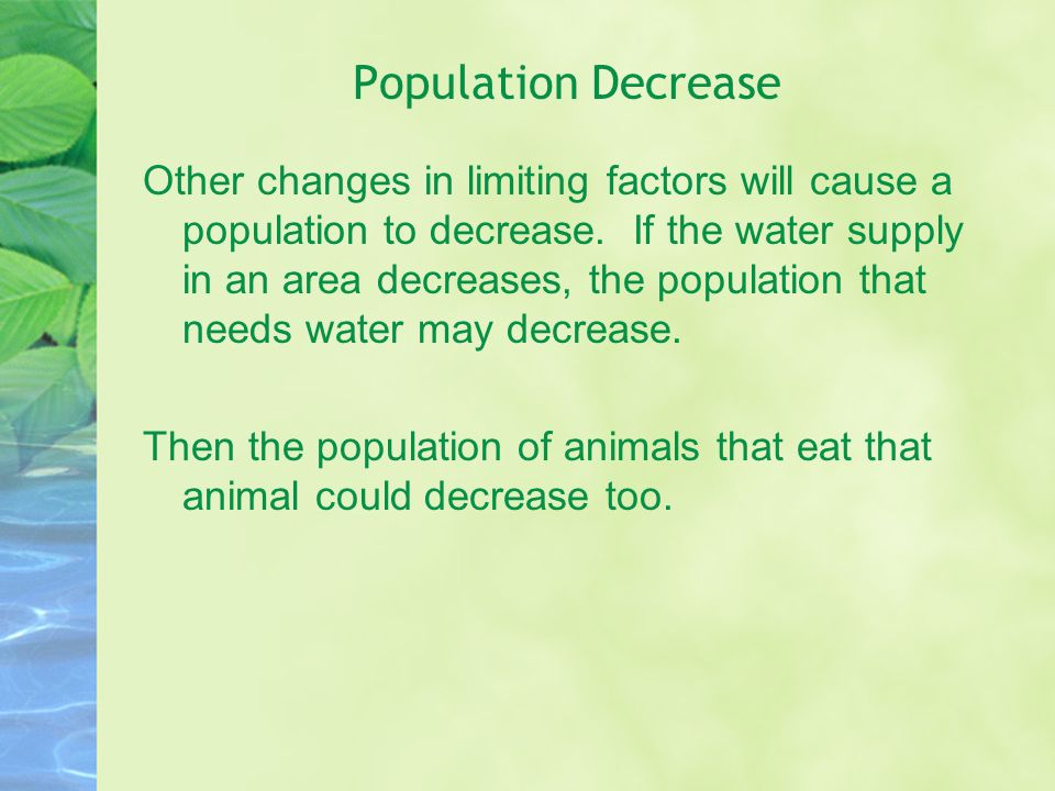 Population Decrease