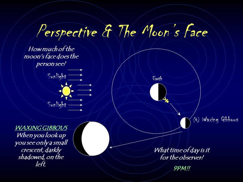 Perspective & The Moon's Face