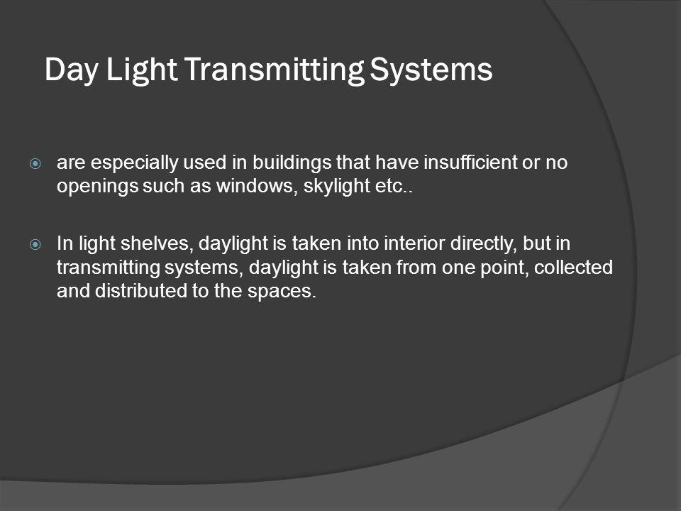 Day Light Transmitting Systems