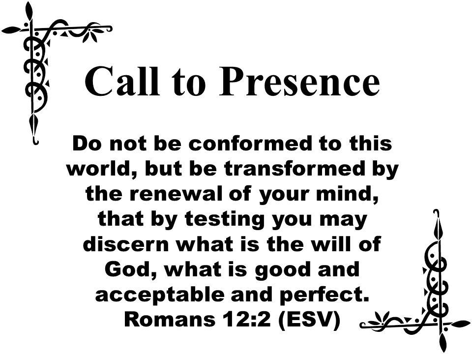 Call to Presence
