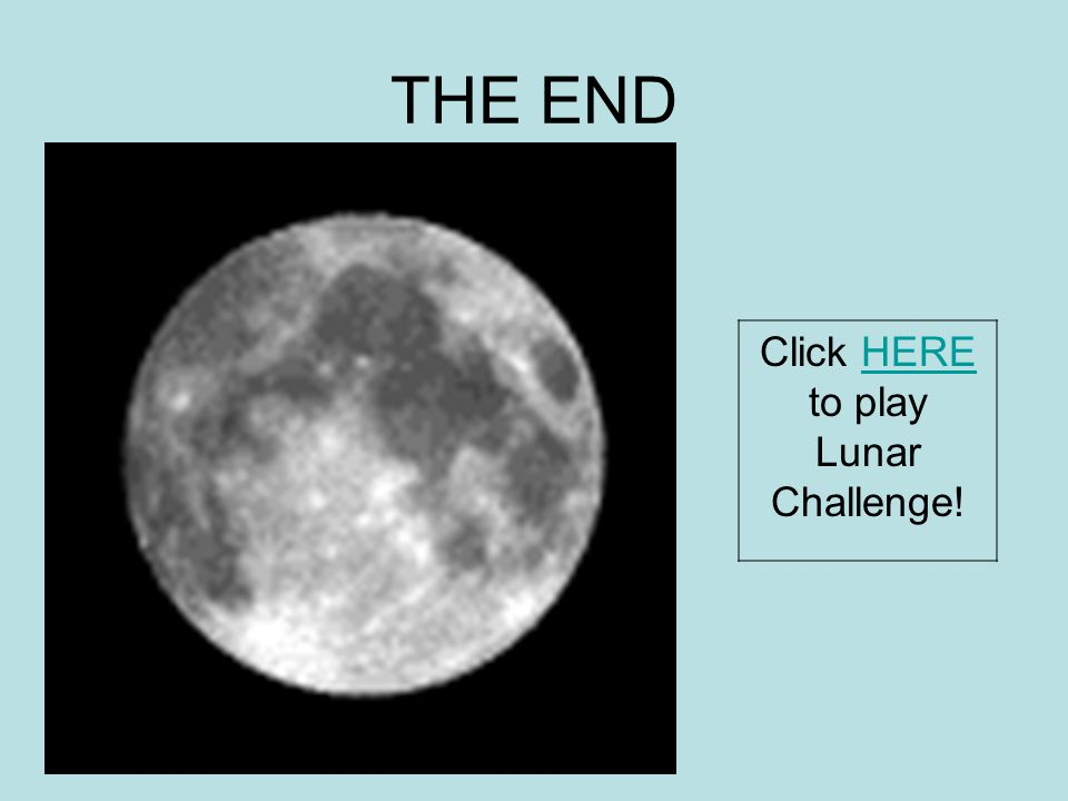 Click HERE to play Lunar Challenge!