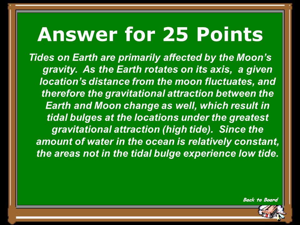 Answer for 25 Points