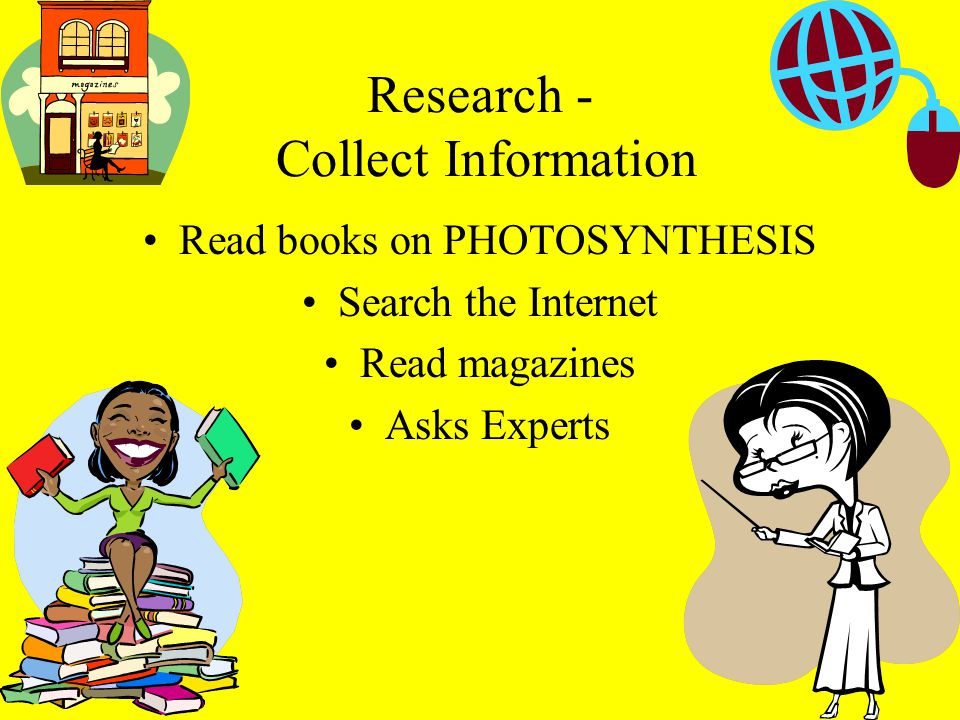 Research - Collect Information