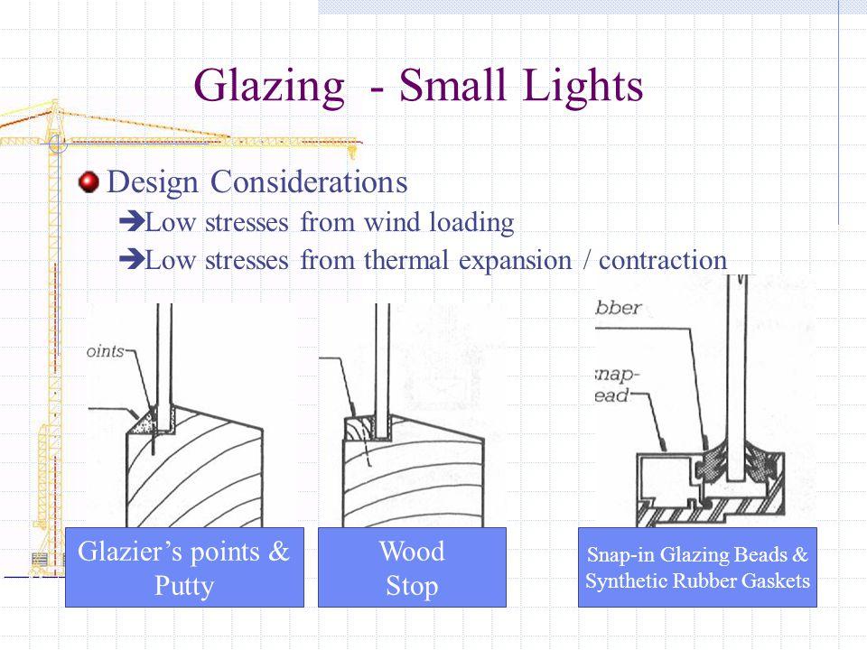 Glazing - Small Lights Design Considerations