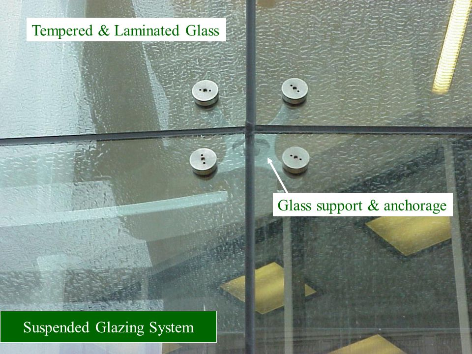 Suspended Glazing System